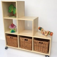 Cubed Shelving Tiered