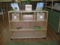 Open Backed Shelving