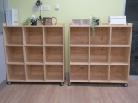 Cubed Shelving 9, 3 high