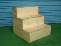 Ply wooden steps