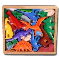 Play Tray Puzzle Dinosaur