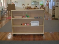 Shelving on Castors