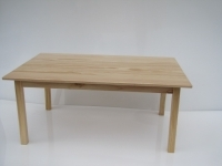 Solid Pine Table Large