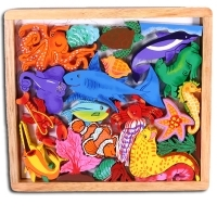 Play Tray Puzzle Sea Creatures