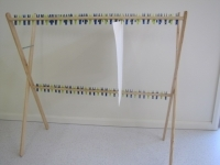 Paint drying rack