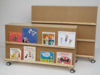 Sloping Bookshelf - Kinder/Junior