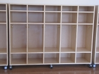 Lockers - Full Length with Storage Compartments