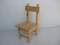 Solid pine kinder chair