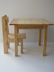 Solid Pine Table Small